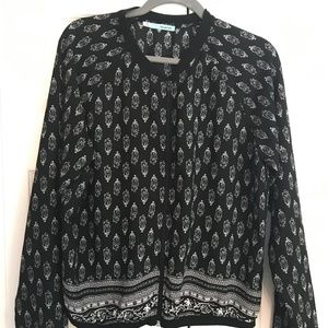 GUC Maurices Lightweight Feather Patterned Jacket
